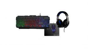 clavier, souris et casque gaming