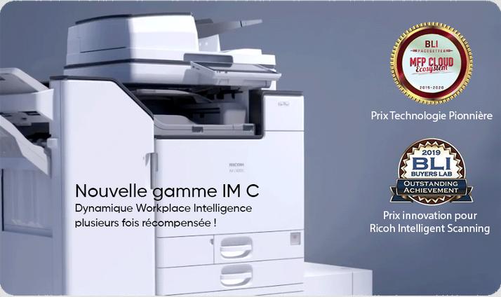 Découvrez la nouvelle génération de copieur multifonction intelligent couleur IM C !