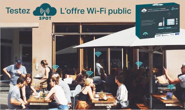 Votre réseau wifi avec le pack Spot TP-LINK !