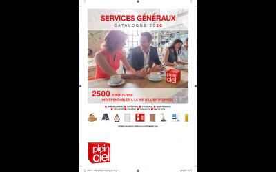 Le catalogue 2020 Plein Ciel des services généraux est disponible