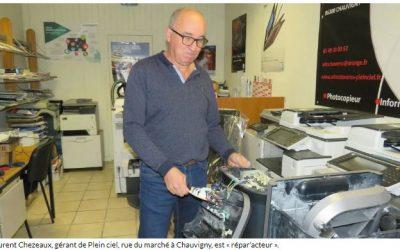 PRESSE – Laurent Chezeaux : commerçant « répar'acteur »